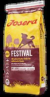 Корм для привередливых собак Josera Festival с лососем 15 кг