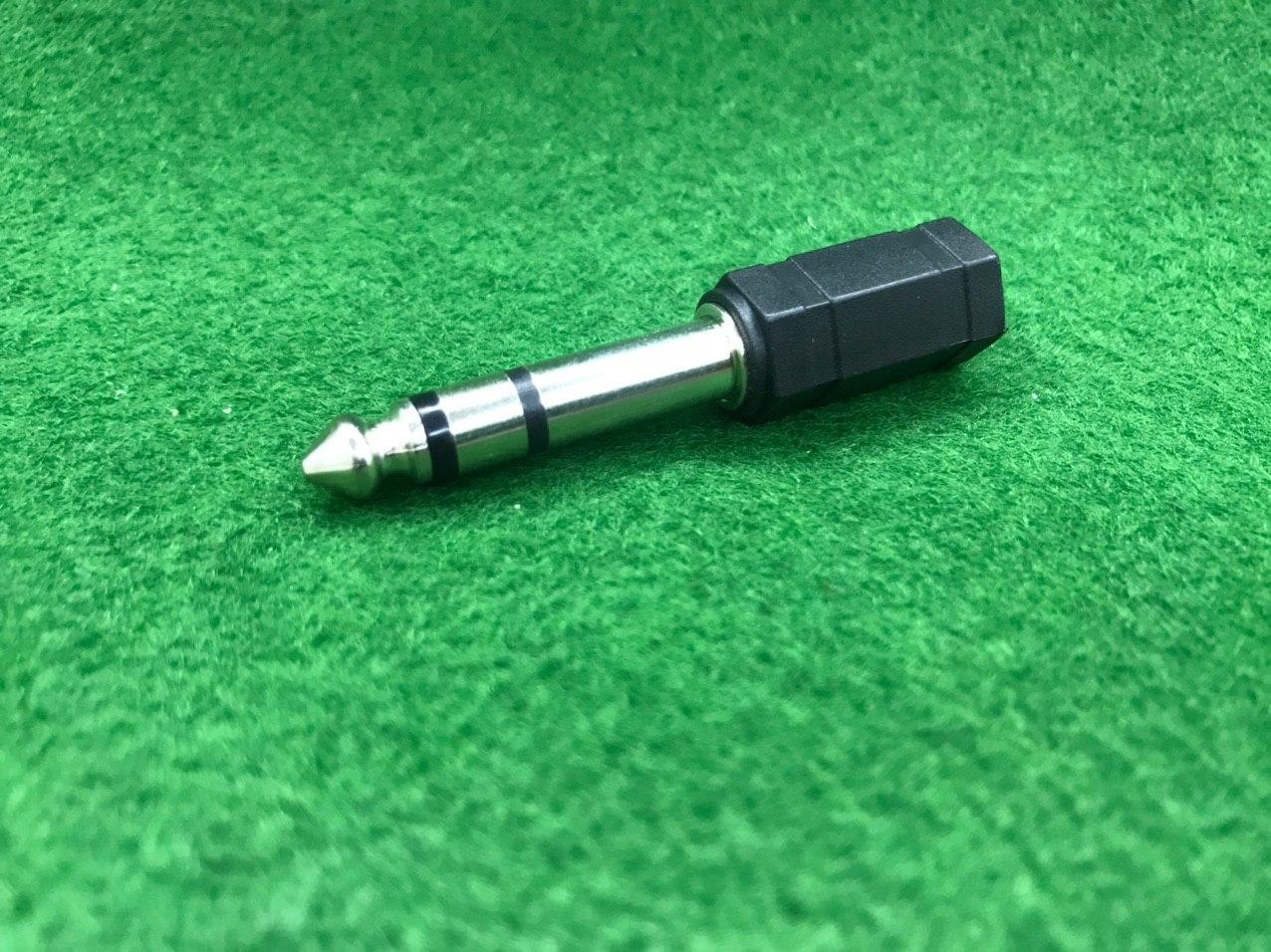 Перехідник аудіо 3.5 mm на 6,3 mm