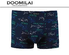 Чоловічі боксери стрейчеві з бамбука «DOOMILAI» Арт.D-01341