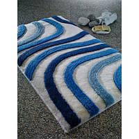 Коврик для ванной Confetti Sardes 60*100 голубой