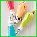 Плотные одноразовые кондитерские мешки 40.6*21.6 см, фото 7