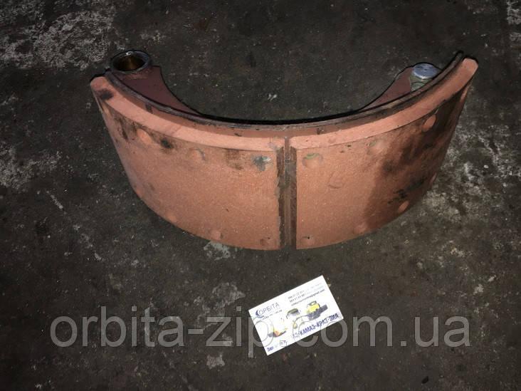 5336-3501091 Колодка тормозная МАЗ левая с накладкой (пр-во ТАиМ) (сделано в СССР)
