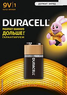 Батарейка DURACELL 6LF22 MN1604 (9V)