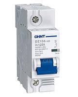 Модульные автоматические выключатели CHINT DZ158-125 1p 63А тип С 6кА, Автоматический выключатель ЧИНТ 63А