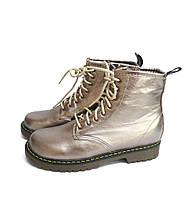 Ботинки подростковые демисезонные для девочек Bistfor Оливковый 17402711 35