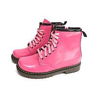 Ботинки подростковые демисезонные для девочек Bistfor Розовый 17402719 34