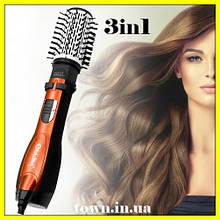 Стайлер-фен для волос Gemei GM 4828 3 в 1, фен бытовой, фен парикмахерский,1000W