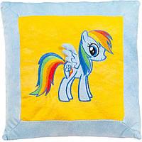 Мягкая игрушка подушка литл Пони голубая единорг радуга Stip Молдова