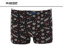 Підліткові стрейчеві труси шорти на хлопчика Марка «IN.INCONT» Арт.9627, фото 2