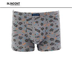 Подростковые стрейчевые трусы шорты  на мальчика Марка «IN.INCONT»  Арт.9627