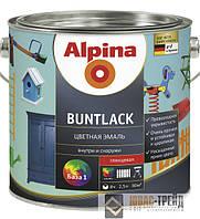 Alpina Buntlack SM (чорный)(Альпина Бунтлак) RAL9005 2,5л