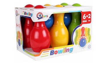 Игрушка ТехноК Набор для игры в боулинг арт.4692