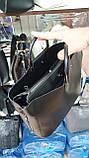 Женские объемные сумки из эко кожи 3отд (2цвета)25*34см, фото 3
