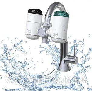 Универсальный бойлер-кран, водонагреватель электрический для дома с встроенным фильтром ZSW-D01