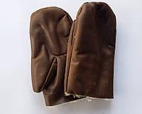 Рукавицы зимние, искусственный дубляж  (упаковка 5 пар)