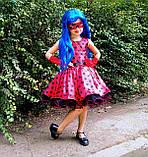 Платье Леди Баг, Костюм леди Баг, Платье Божья Коровка, Стиляги на рост 98-152 см, фото 3