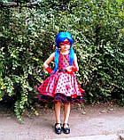 Платье Леди Баг, Костюм леди Баг, Платье Божья Коровка, Стиляги на рост 98-152 см, фото 5