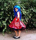 Платье Леди Баг, Костюм леди Баг, Платье Божья Коровка, Стиляги на рост 98-152 см, фото 4
