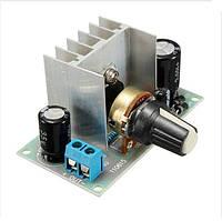 Контроллер регулятор скорости вращения двигателя постоянного или переменного тока 1A