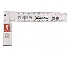 Кутник будівельний алюмінієвий литий 250мм MTX 324719