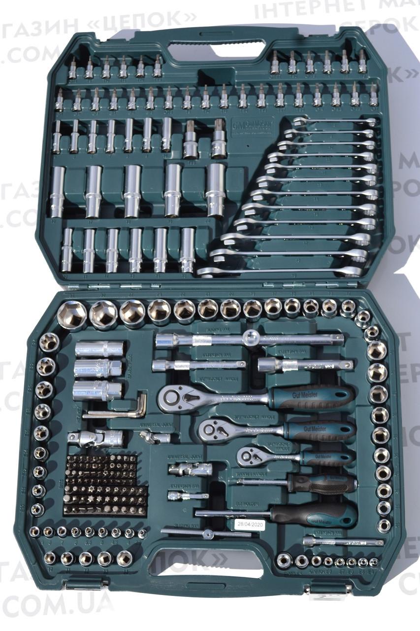 Набір інструментів Gut Meister 216од від Mannesmann (Германія)