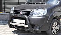 Защита на передний бампер Fiat Doblo (2001-2009)