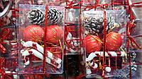 Шары новогодние, набор 16шт в ассортименте(12119, фото 1