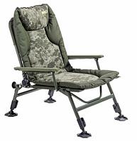 Карповое кресло Mivardi Chair CamoCODE Arm M-CHCCA