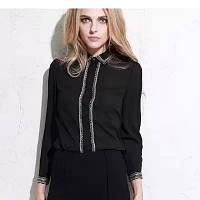 Изысканная  блузка, 2 цвета, фото 1