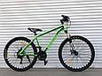 Спортивный горный алюминиевый велосипед 26 дюймов TopRider горный велосипед с алюминиевой рамой ТОП РАЙДЕР, фото 6