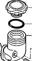 Заливная горловина 4134C005 Perkins, Перкинс, Перкінс, Запчасти Перкинс, Запчасти Perkins, ремонт Перкинс, двигатели Perkins