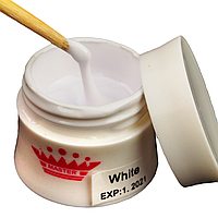 Моделирующий гель для ногтей Master Professional  White 56 мл