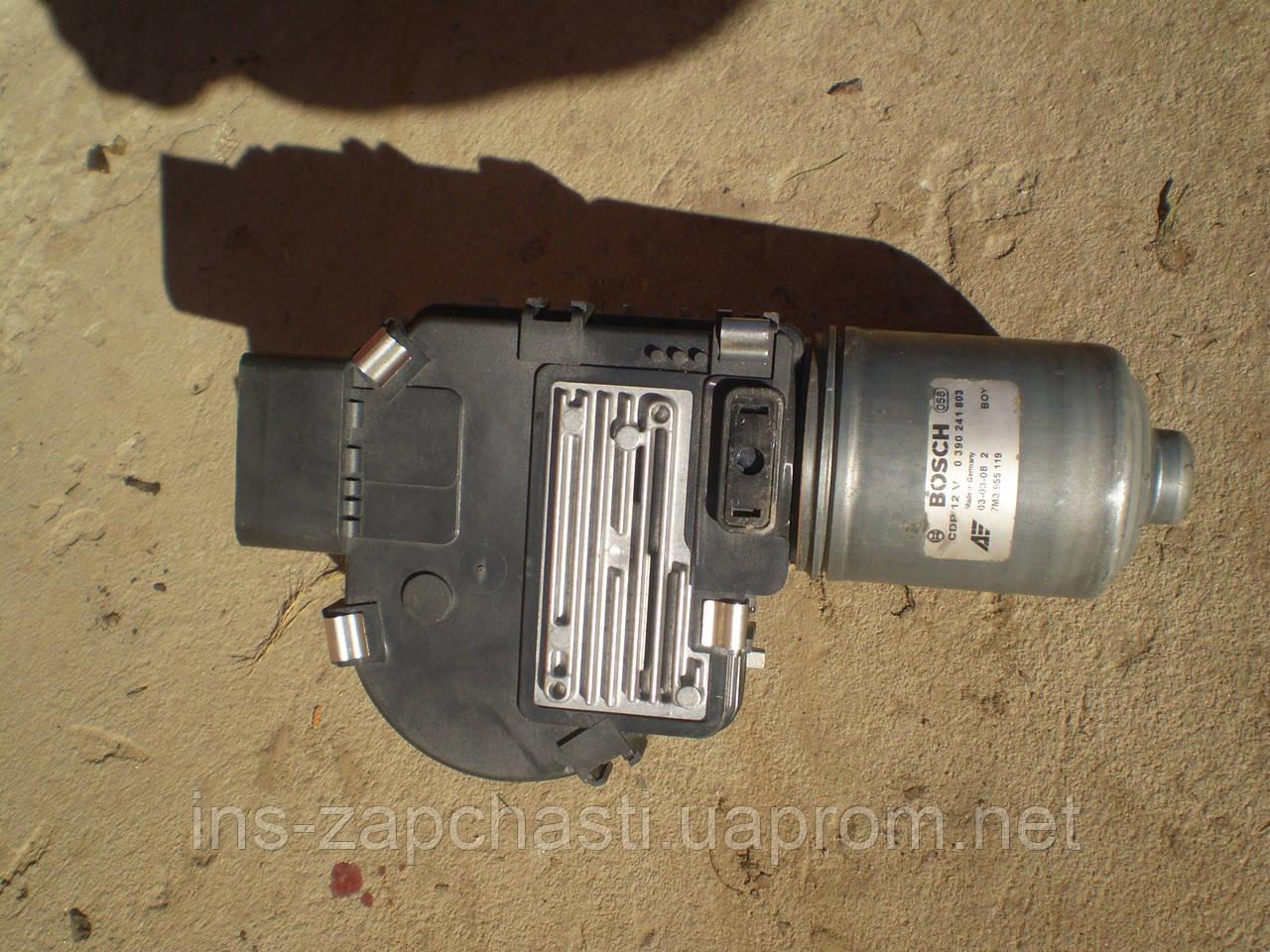 Ел. двигун склоочисника VAG 7M3 955 119 Alhambra Sharan Galaxy 2001-2005