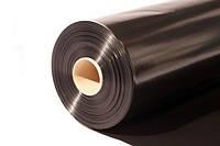 Плёнка ПЭ 80мк, рукав 3м, общая ширина 6м, длина 50м Чёрная