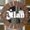 Диски сцепления мопед Atlant (пробковые)