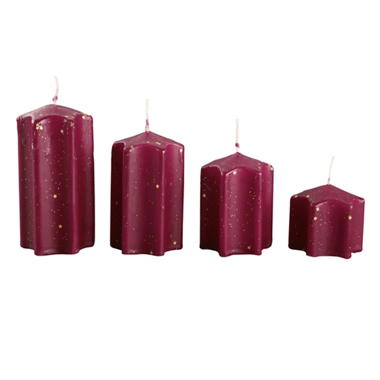 Набір свічок декоративних 4шт Melinera 353