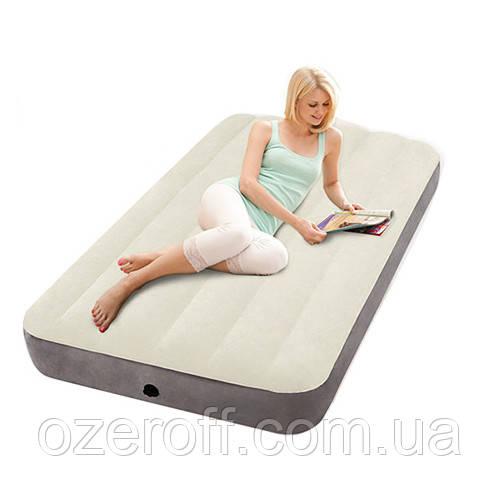 Ліжко надувний Intex 191 х 99 х 25 см (64707)