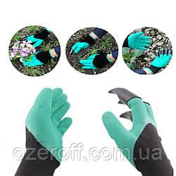 Перчатка с когтями для сада GARDEN GLOVE (4505)