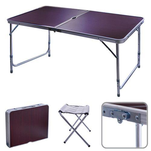 Стол раскладной + 4 стула STENSON 120 х 60 х 70 см (R28855)