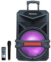 Аккумуляторная беспроводная колонка чемодан Ailiang UF-1713, портативная bluetooth акустика, бумбокс, микрофон
