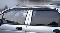 Ветровики Део Матиз    Дефлекторы окон Daewoo Matiz 1998