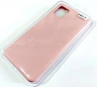 Чохол для Samsung Galaxy Note10 Lite N770 / Samsung Galaxy A81 матовий Silicone Case Full Cover Macarons Color Рожевий
