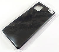 Чохол для Samsung Galaxy Note10 Lite N770 / Samsung Galaxy A81 матовий Silicone Case Full Cover Macarons Color Червоний
