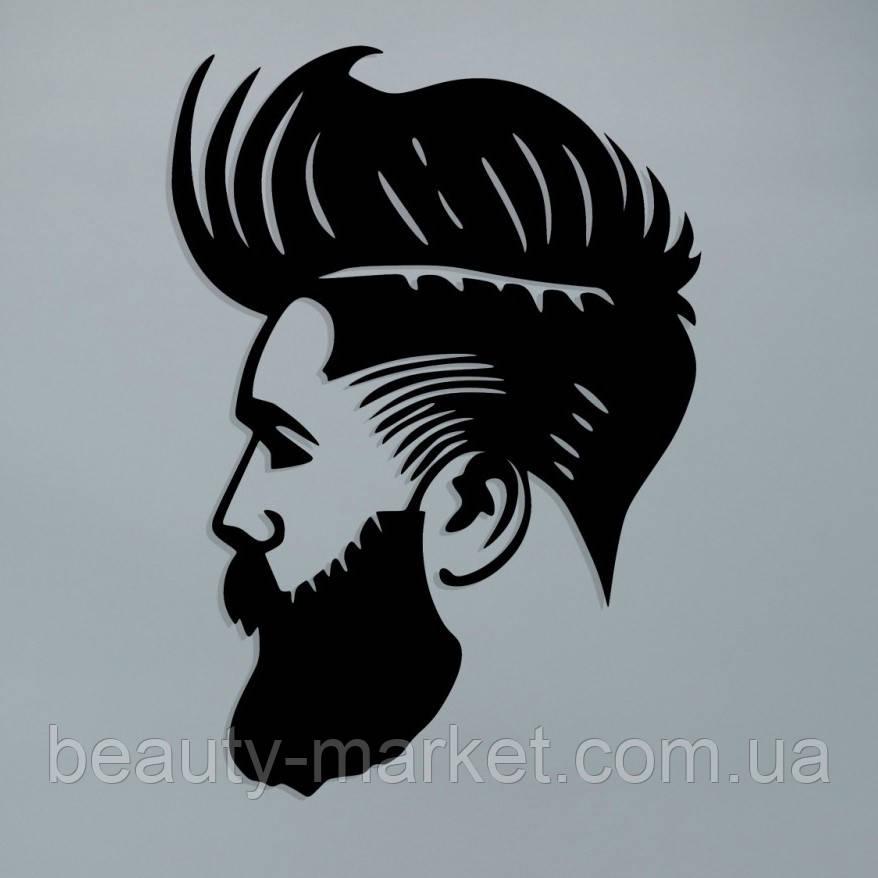 Модульное панно для салона красоты Barbershop