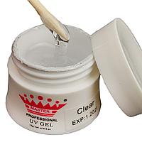 Моделирующий гель для ногтей Master Professional  Clear 30 мл