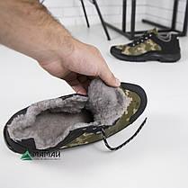 Зимние кроссовки камуфляж на хутре 41,42,45р, фото 3