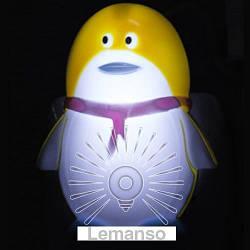 Ночник Lemanso Пингвин жёлтый / NL12