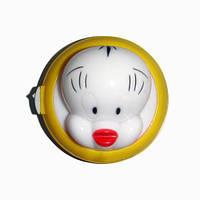 Ночник Lemanso Ципленок жёлтый, круглый / NL10