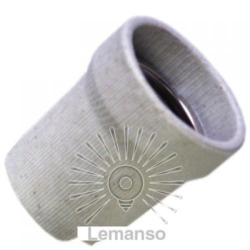 Патрон LEMANSO Е27 керамический / LM2531 (LM123)