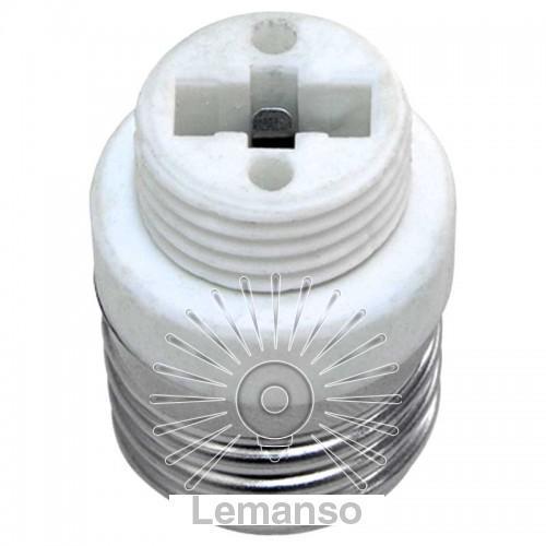Патрон - переходник LEMANSO LH 69 E27-G9 230V/50Hz 4A / LM116